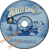PlayStation - RALLY CROSS 2 - jeu de courses autos console psx ps1 ps2 testé PAL