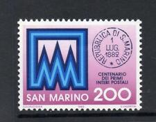 SAN MARINO MNH 1982 SG1177 CENTENARY OF POSTAL STATIONERY