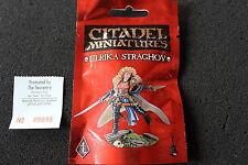 Warhammer PR33 ulrika straghov metal figure limited edition black library oop