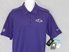 NEW Baltimore Ravens Nike Dri-Fit Polo Top Casual Golf Shirt Mens Size Small