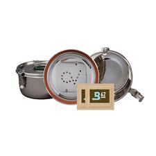 CVault large 0,7L VakuumDose Storage Container HumidityControl +2x 8g Boveda 62%
