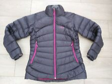 Rab Cirque down Jacket puffer coat beluga grey peony pink qde62 uk12  M