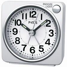 SEIKO CLOCK alarm clock ( Seiko clock ) PYXIS light ( white ) NR437w