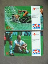 2 prepaid kaarten USA Sprint  -  WC Football 1994 USA