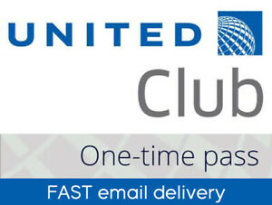⚡️⚡️⚡️ UNITED CLUB LOUNGE TRAVEL PASS exp 9/30/21 QUICK FAST email delivery