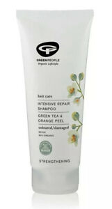 Green People Intensive Repair Shampoo With Green Tea & Orange Peel - 200ml
