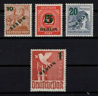 P130717/ BERLIN – GERMANY / Y&T # 47 / 50 MINT MNH FULL SET CV 310 $
