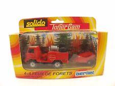 Solido 354 camion Pompiers 4x4 SDI feux forêts neuf en boite
