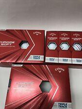 New listing Callaway Chrome Soft Golf Balls White 2 Dozen (2 x 1 Dozen) ***Brand New***