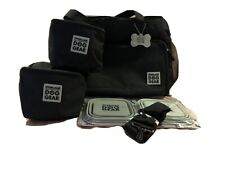 New ListingMobile Dog Gear Week Away Tote Dog Travel bag for Med and Large Dogs Black