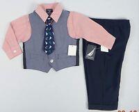 Nautica Baby Boys' 4-Piece Formal / Christening suit Set - 18 months