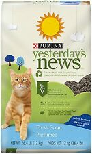Purina Yesterday's News Fresh Scent Non-Clumping Cat Litter - 1 26.4 lb. Bag