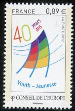STAMP / TIMBRE  FRANCE NEUF DE SERVICE N° 153 ** CONSEIL DE L'EUROPE / LOGO
