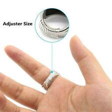12Pcs Invisible Guard Tightener Reducer Ring Size Adjuster Resizing Fitter Tools