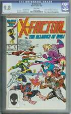 X-Factor #5 Cgc 9.8 White Pages Id: 2985