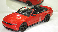 2010 MUSTANG GTCONVERTIBLE  FIRE RED NEW IN BOX