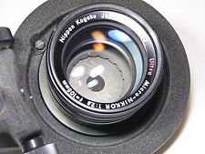 Ultra Micro Nikkor 105mm F/2.8 #182503 lens with macro bellows for M42/PL-Mount
