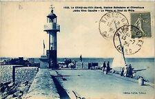 CPA  Le Grau-du-Roi(Gard) , Station Balnéaire et Climatique Jetée Rive..(458767)