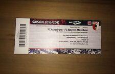 Sammler Ticket FC Augsburg - FC Bayern München 29.10.16 FCB FCA