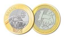 BRASILE - 2016 GIOCHI OLIMPICI RIO - 1 REAL Coin-Basket