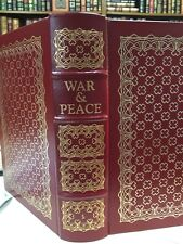 New listing Easton Press: War And Peace: Leo Tolstoy: Russian Nobility: 19Th Century: New