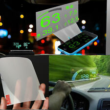 Car ActiSafety OBD 2 II HUD Head Up Display Interface Speed Warn Reflective film