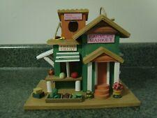 Farmer's Market Wood Birdhouse New