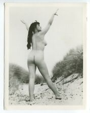 "Lorraine Burnett  By Harrison Marks 6"" x 4"" 1950 Original Nude Photo  B8103"
