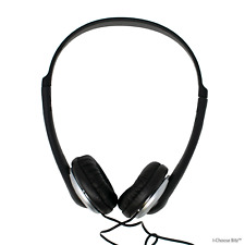 3.5mm On-Ear Headphones with Volume Control / 6m Stereo In-Line Lead -  PSG03400