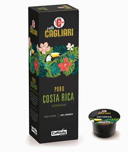 100 CAPSULE CAFFITALY CAGLIARI PURO COSTARICA MONORIGINE 100% ARABICA
