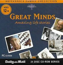 Britannica Family Collection : Great Minds : Promotional CD Rom