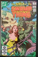 The SAGA of The SWAMP THING #8 (1982 DC Comics) ~ FN Book