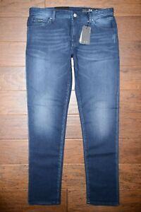 Armani Exchange A|X J14 Men's Skinny Fit Lightweight Stretch Cotton Jeans 32R