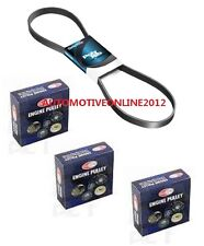 Dayco Belt & Nuline Pulley Kit for FORD FALCON BF FG 4.0L 6 CYL INC XR6 TURBO