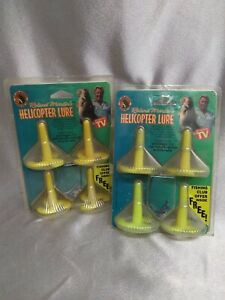 Set of 2- NIP Vintage Roland Martin Helicopter Lures Fishing Lures Seen On TV