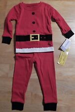 Carter's Santa Claus Christmas Infant Pajamas Unisex 12 Months