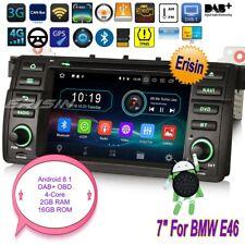 Android 8.1 BMW E46 Autoradio M3 MG ZT Rover 75 3er GPS CD DAB+OBD GPS TPMS 3946
