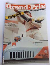 New listing GRAND PRIX INTERNATIONAL Magazine #36 1981 - England