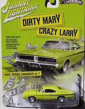"`69 Dodge Charger R/T ""Dirty Mary Crazy Larry"" 1969 *Johnny Lightning 1:64 OVP"