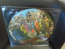 BEATLES St Peppers Lonely Hearts Club Band [John Lennon] LP picture disc EX