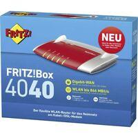 AVM FRITZ!Box 4040 WLAN-Router Gigabit LAN Mediaserver Router DSL an Modem
