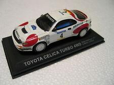 Modellauto TOYOTA Celica Turbo 4WD WRC Rally Catalunya  1992 weiß 1:43
