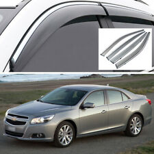 Car Window Visor Vent Deflector Shade Guard for Chevy Malibu Sedan 2013-2015 14