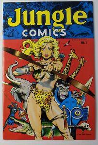 Jungle Comics #1 VF (Blackthorne 1988) Dave Stevens