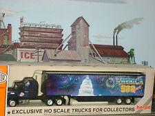HERPA SEMI-TRACTOR TRAILER AMERICA 500 YEARS * CAPITOL* HO Scale Train/SLOT*New