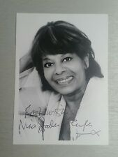 Autograph - Nina Baden-Semper - Love Thy Neighbour on photo card live ink