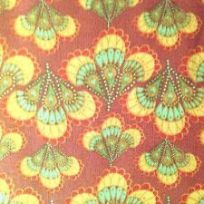 """fabric by Lyndhurst Studios """"Hippie Chic"""" pattern quilt shop quality fabric"""