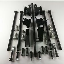Stainless Steel HD Parallel Full Size Universal 4 Link Kit w/ Shock Hardware