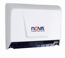 NOVA 2 (Model 0930) by WORLD White Alum Hand Dryer (110V-240V); ADA Compliant