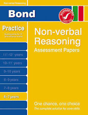 Bond Starter Papers in Non-verbal Reasoning 6-7 Years by Alison Primrose (Pamphl